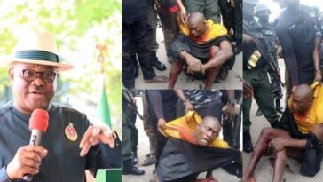 Governor Wike Redeems N30 Million Bounty Promise To Police On Arrest, Killing Of Bobosky 11
