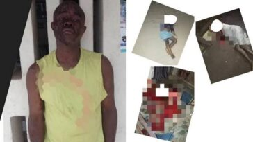 Anambra Man Murders His Two Kids, His Mom And Leaves His 3 Other Children In Critical Condition 5