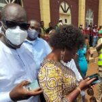 Edo Election: Fight Breaks Out At Polling Unit As Governor Obaseki And Wife Cast Their Vote 30
