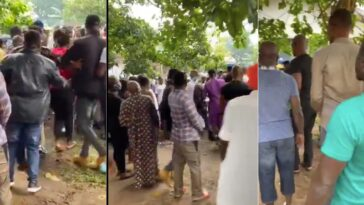 Edo Election: Voters Scramble For Cash As APC Leaders Allegedly Share Money At Polling Unit [Video] 12