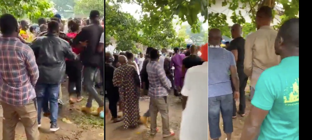Edo Election: Voters Scramble For Cash As APC Leaders Allegedly Share Money At Polling Unit [Video] 1