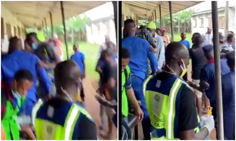 APC Chieftain Caught Trying To Snatch Election Materials During Edo Governorship Election [Video] 1
