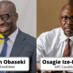 Edo Decide: Obaseki Leading Ize-Iyamu With 0ver 80,500 Votes From 16 Out Of 18 LGAs 28