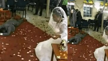 Groom Collapse After Finding Out That His Bride Has Four Grow-up Children On Wedding Day 2
