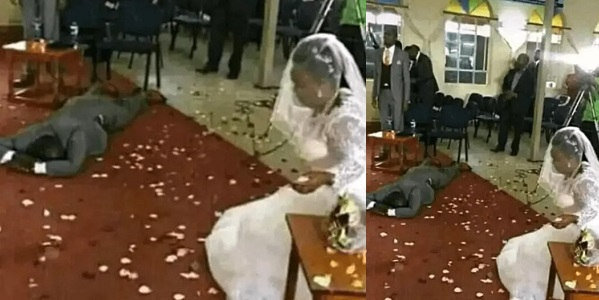 Groom Collapse After Finding Out That His Bride Has Four Grow-up Children On Wedding Day 1