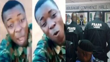 """You Will Be In Trouble The Day You Kill A Yahoo Soldier"" - Nigerian Soldier Warns SARS [Video] 10"