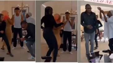 Billionaire, Femi Otedola Dances With His Children As They Have Fun Together At Home [Video] 13