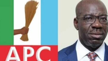 EDO: APC Congratulates Obaseki, Says His Re-Election Represents Victory For Nigeria's Democracy 1