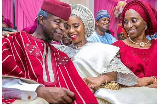 """I'm Now A Grand Dad!"" - VP Osinbajo Announces As Daughter Gives Birth To A Baby Boy 1"