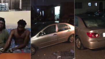 Car Snatchers Arrested After Stabbing Uber Driver And Stealing His Car In Lagos [Photos/Video] 12