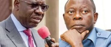 If Oshiomhole Continues To Unleash His Lions, I Will Have No Mercy On Him - Governor Obaseki 26