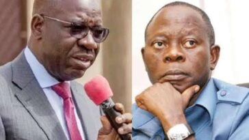 If Oshiomhole Continues To Unleash His Lions, I Will Have No Mercy On Him - Governor Obaseki 3