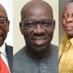 EDO: Obaseki Receives Certificate Of Return, Seeks Support From Oshiomhole, Ize-Iyamu, APC 27