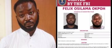 Nigerian man, Felix Okpoh Wanted By FBI Over $6 Million Internet Fraud, Surrenders To EFCC 24
