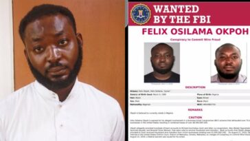 Nigerian man, Felix Okpoh Wanted By FBI Over $6 Million Internet Fraud, Surrenders To EFCC 2