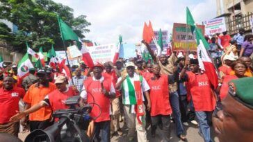 NLC Insists To Go On Strike, Protest Next Week Over Increase In Price Of Electricity And Fuel 25