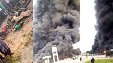 Many Feared Dead Including School Children As Petrol Tanker Explodes In Lokoja, Kogi [Photos/Video] 9