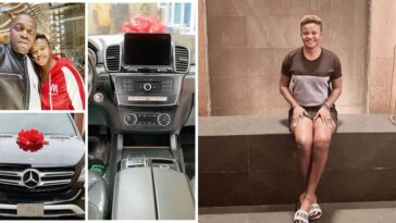 Sex Therapist, Angela Nwosu Gifts Her Husband Mercedes Benz Worth N20M As Birthday Gift 9