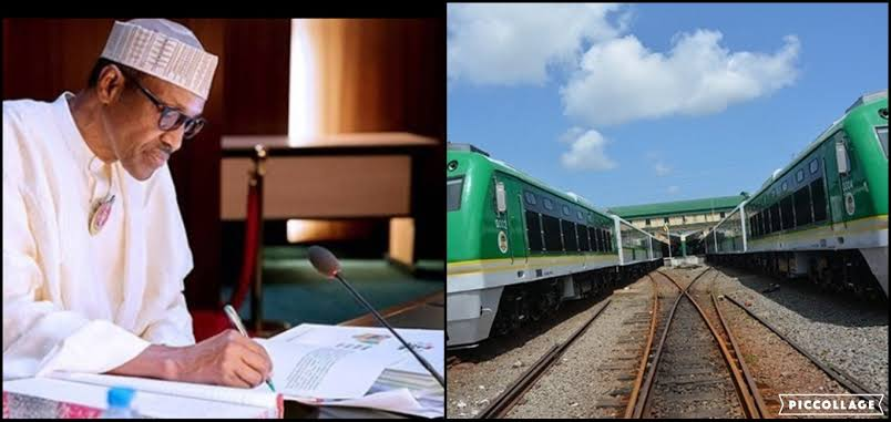 President Buhari Approves $1.96 Billion For Railway Contract From Kano To Niger Republic 1