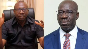 EDO: Pastor Ize-Iyamu Begs Governor Obaseki To Set Aside His Anger And Come Back To APC 2