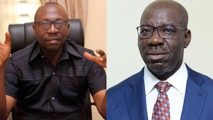 EDO: Pastor Ize-Iyamu Begs Governor Obaseki To Set Aside His Anger And Come Back To APC 1