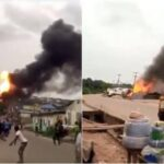 Many Injured, Properties Burnt In Gas Tanker Explosion At Ajuwon Iju-Ishaga Road, Lagos [Video] 27