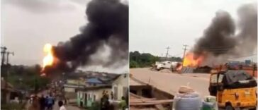 Many Injured, Properties Burnt In Gas Tanker Explosion At Ajuwon Iju-Ishaga Road, Lagos [Video] 24