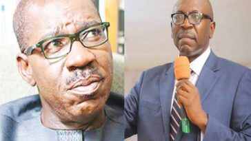 EDO: Beware Of PDP Fabrications, I Didn't Beg Obaseki To Return To APC - Pastor Ize-Iyamu 1