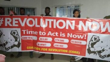 RevolutionNow Organisers Calls For Mass Protest On 1st October, Wants President Buhari To Resign 4