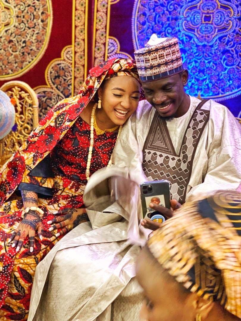 President Buhari's Media Aide, Bashir Ahmad Finally Marries Naeemah Junaid Bindawa [Photos] 1