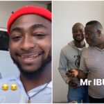 Video: Nollywood Actor, Mr Ibu Visits Davido At His Mansion In Lagos 27
