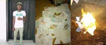 Nigerian Graduate Sets All His Certificates Ablaze Due To His Inability To Secure A Job [Photos] 26