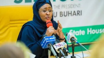 """COVID-19 Is A Sign That God Is Not Happy With Us, We Need To Pray For Forgiveness"" - Aisha Buhari 4"