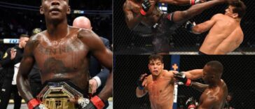 Nigeria's Israel Adesanya Knocks Out Rival Paulo Costa To Retain His UFC Championship [Video] 24