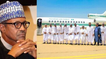 President Buhari Under Fire For Allegedly Authorizing Presidential Jet For Bashir Ahmad's Wedding 13