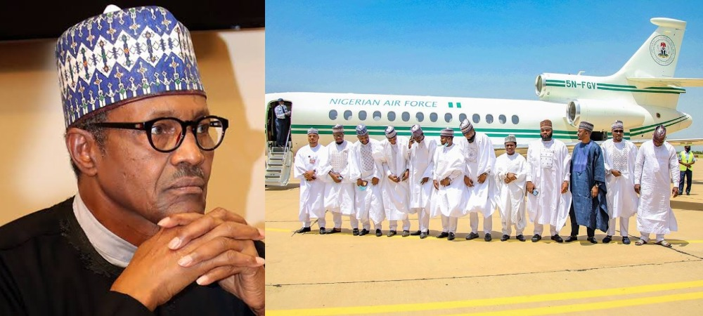 President Buhari Under Fire For Allegedly Authorizing Presidential Jet For Bashir Ahmad's Wedding 1