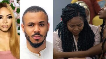 BBNaija: Nengi Breaks Down In Tears As Ozo Ignores Her At All-White Night Party [Video] 5
