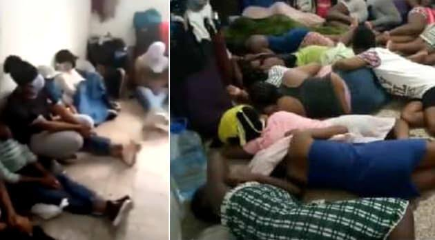 10 Set-To-Be Evacuted Nigerian Ladies Arrested And Barred From Leaving Lebanon By Employers 1