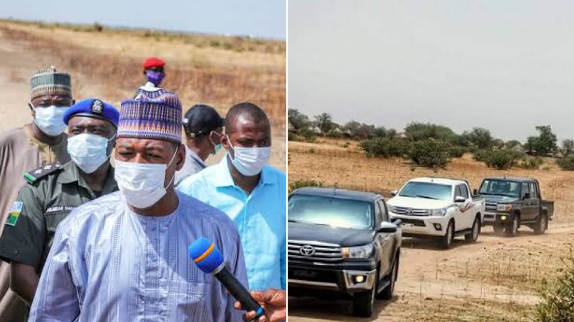 Boko Haram Attacks Borno Governor Zulum's Convoy Again, Less Than 48 Hours After Earlier Strike 1