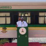 BREAKING: President Buhari Inaugurates Warri-Itakpe Railway Project 27