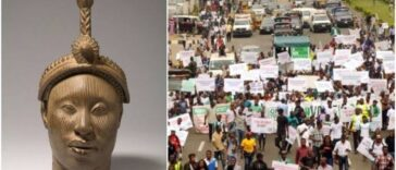 Yoruba Protesters Asked To Avoid Clash With Security Operatives During 'Oduduwa Republic' Rally 25