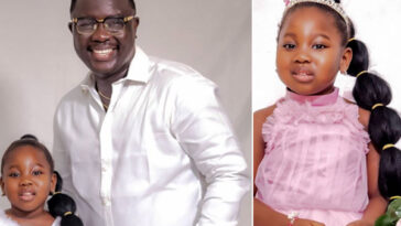 Seyi Law Shares Lovely Pictures Of His Daughter, Tiwa As She Clocks 4 1
