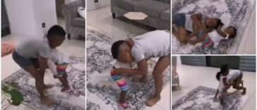 Watch: Funny Video Of Two Kids Performing Wrestling Match Goes Viral 30