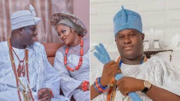 Ooni Of Ife Welcomes First Son With Prophetess Wife, Olori Silekunola 3