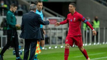 """Cristiano Ronaldo Will Play Until He Clocks 40"" - Portugal Coach, Fernando Santos 10"