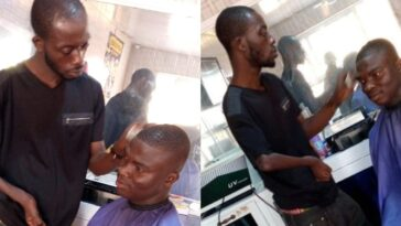 Ghanaian Man Narrates How A Disabled Barber Gave Him The Best Haircut Of His Life 13