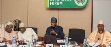 Nigerian Governors Donates N100m To Borno, Says Situation In The State Can Consume Nigeria 26