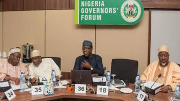 Nigerian Governors Donates N100m To Borno, Says Situation In The State Can Consume Nigeria 5