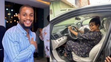 Actor Alexx Ekubo Suprises His Mum With A Car Gift To Celebrate His Chieftancy Title [Video] 8