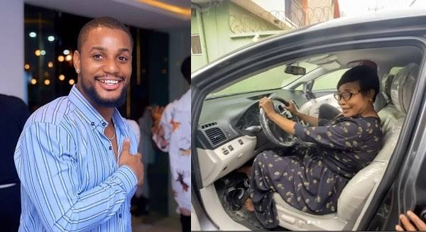 Actor Alexx Ekubo Suprises His Mum With A Car Gift To Celebrate His Chieftancy Title [Video] 3